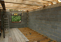 Internal View of Building Extension-Click for More Images