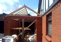 Garage Extension Under Construction-Click for More Images